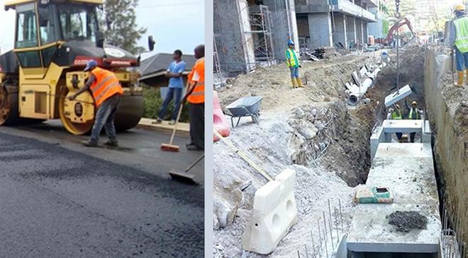 Road, Drainage Construction Services Services